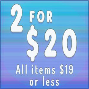 💜2 for $20💜 on select items BUNDLE TO SAVE